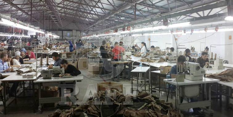 raff military textile PRODUCTION